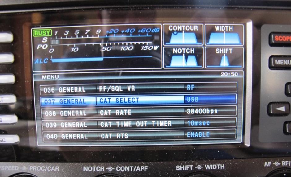 DXZone Yaesu FTDX3000 Setup for Digital Modes