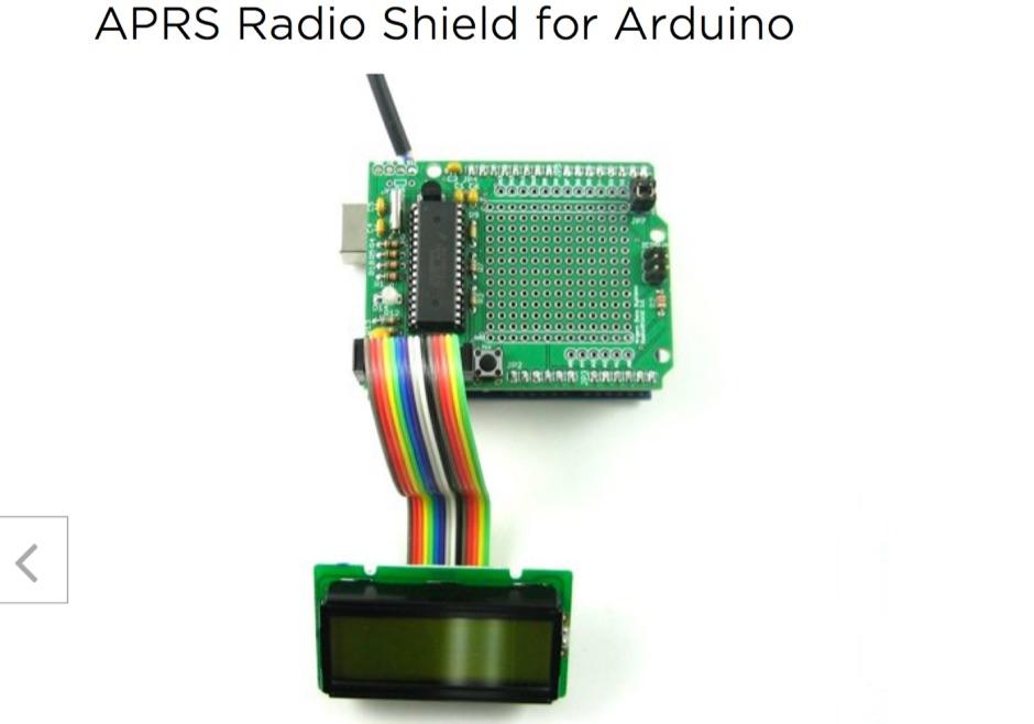 APRS Radio Shield for Arduino
