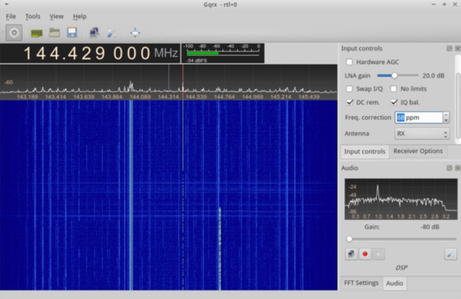 Meteor Scatter Reception on RTL-SDR