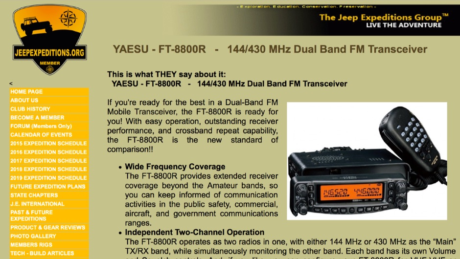YAESU - FT-8800R  Reviewed