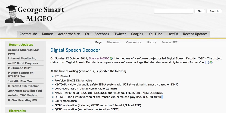 Digital Speech Decoder