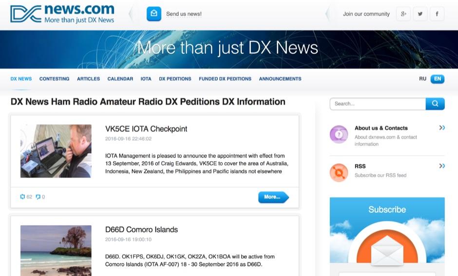DXNews.com