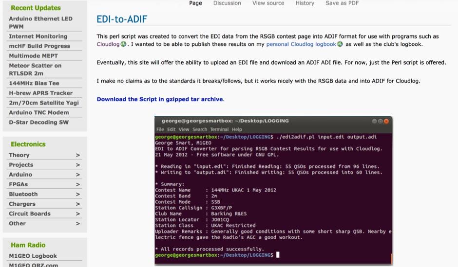 EDI-to-ADIF Perl Converter Script