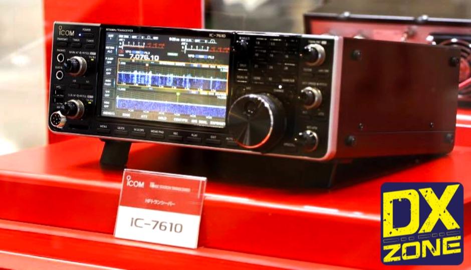 DXZone IC-7610 - Icom Announcement