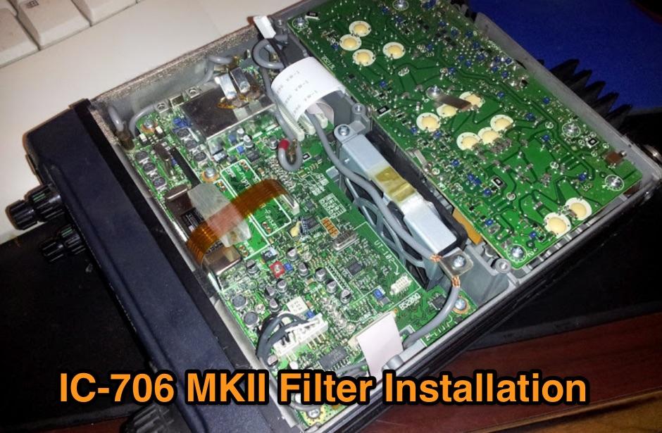 ICOM 706 Filter Install