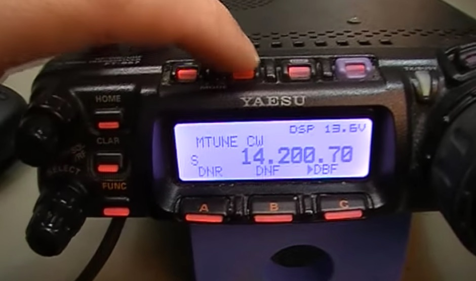 Yaesu FT857D Mic modification video