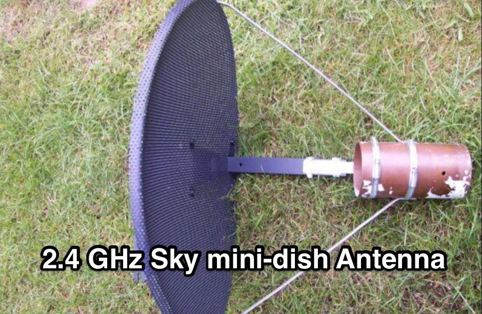 2.4 GHz Sky mini-dish Antenna