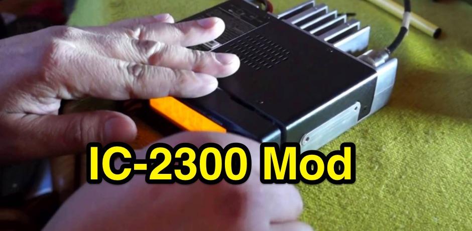 Icom IC-2300H Modification