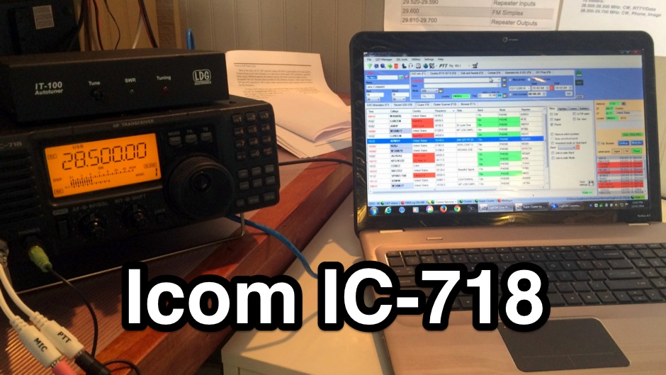 IC-718 HF transceiver review