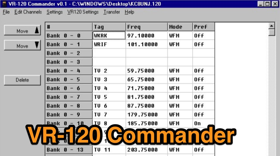 DXZone VR-120 Commander