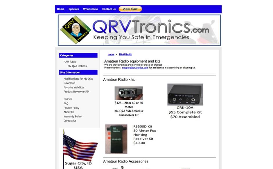 DXZone QRVtronics
