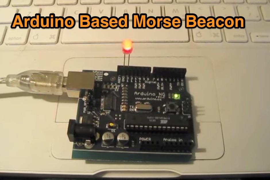 Arduino Based Morse Beacon