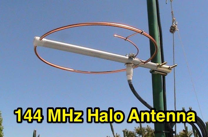 DXZone 2m Halo Antenna