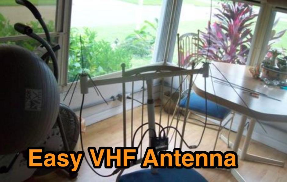 DXZone Easy VHF Antenna