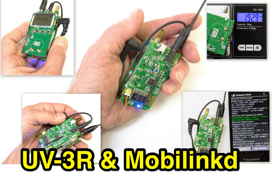 DXZone UV-3R Mobilinkd - APRS in Your Pocket