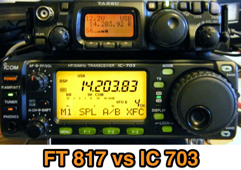 FT 817 vs IC 703