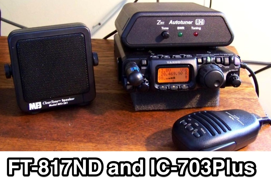 DXZone FT-817ND and IC-703Plus QRP Radios