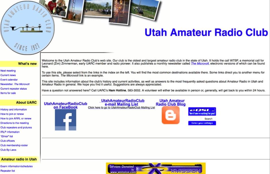 W7SP Utah Amateur Radio Club