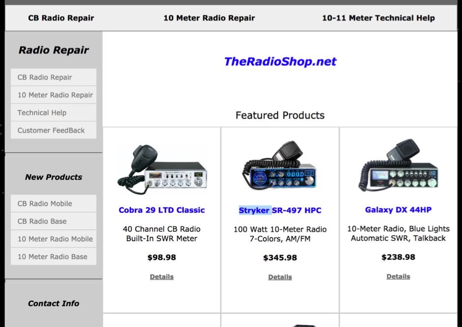 DXZone 10 Meter Radio Repair