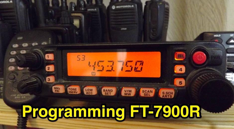 DXZone Programming The FT-7900R