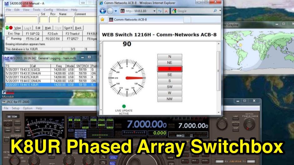 DXZone K8UR Phased Array Switchbox