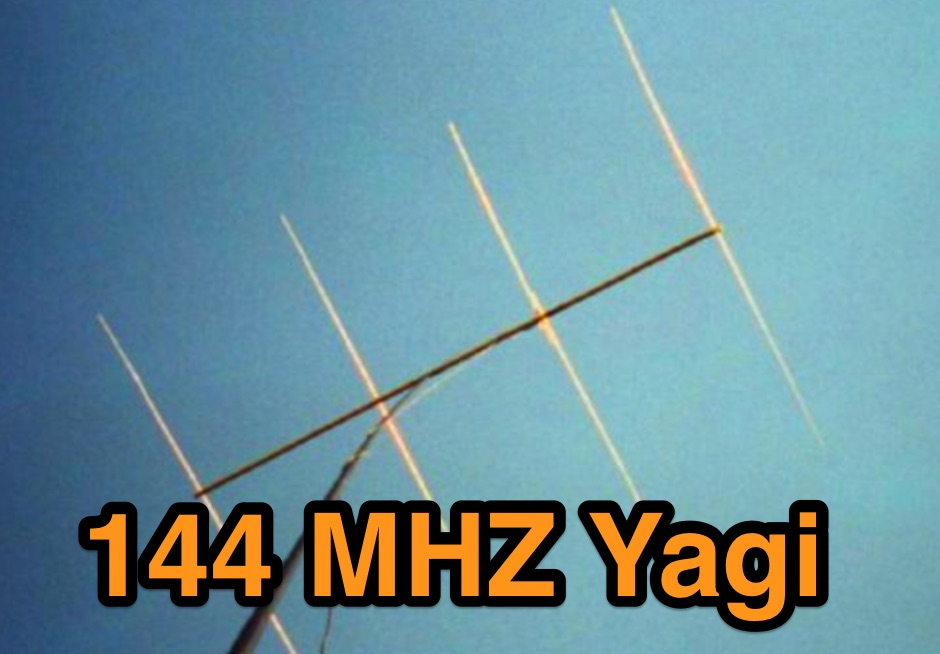 Lightweight 4 Element Yagi for 2 meters
