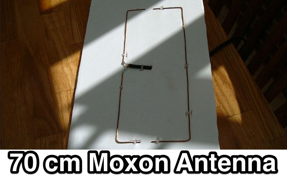 70cm Moxon Antenna Project