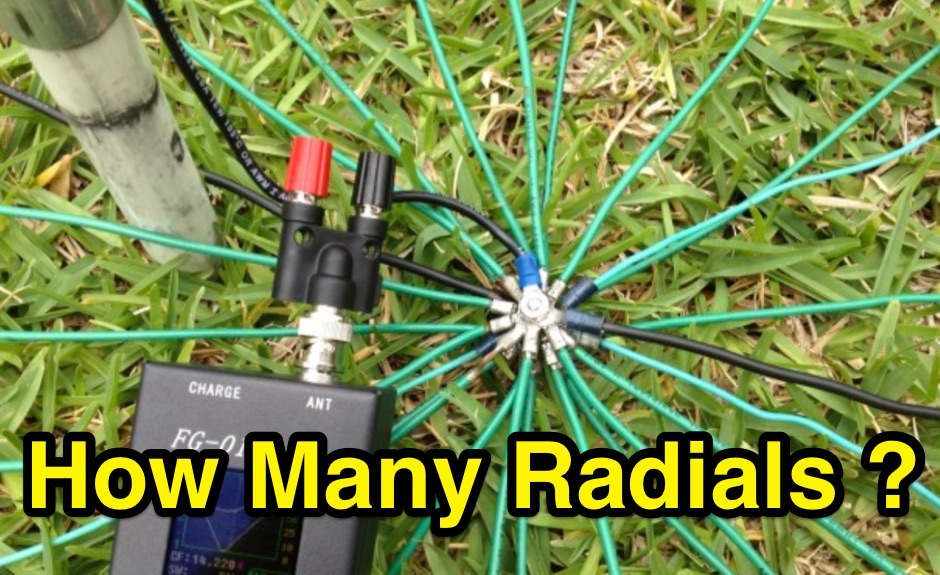 Radials on Vertical Antennas
