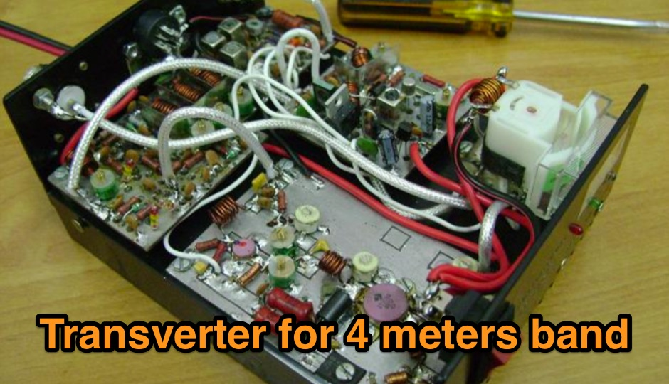 Transverter for 4 meters band