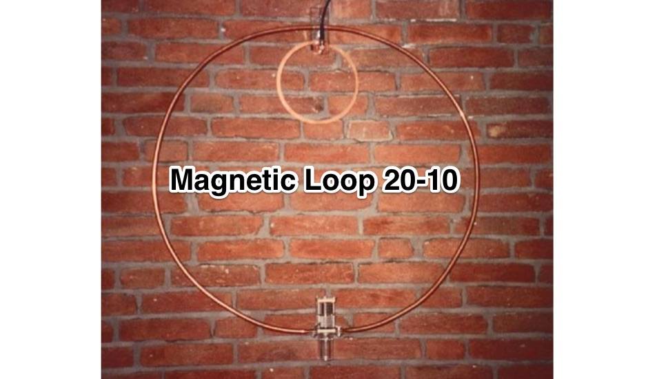 Magnetic Loop Antenna 20-10m