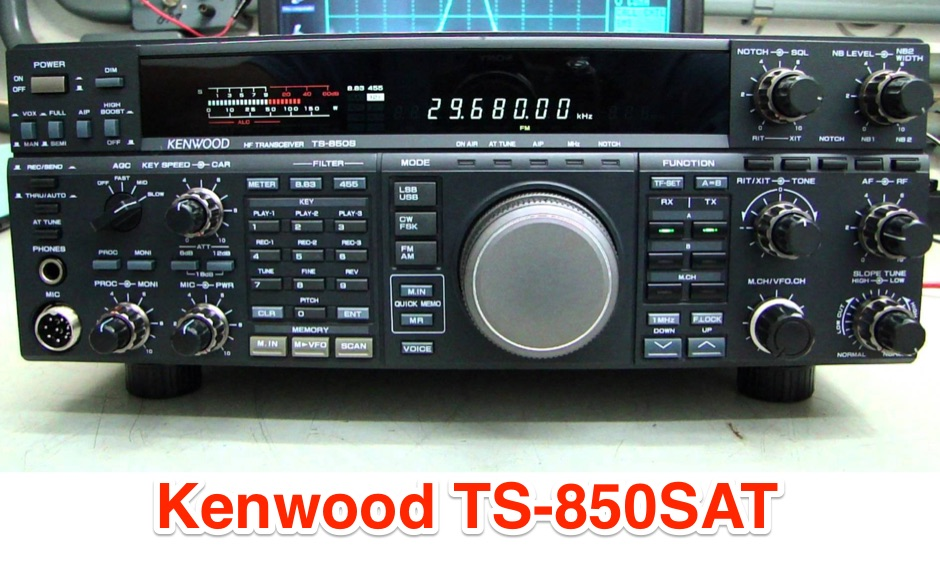 DXZone Kenwood TS-850SAT