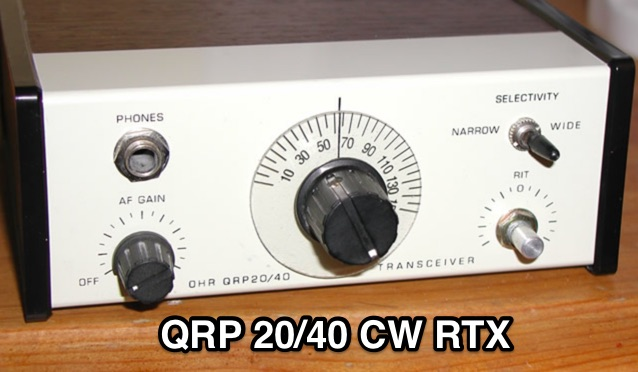 Oak Hills Research QRP 20/40 Transciever