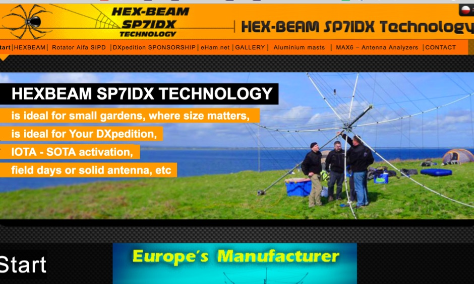 DXZone Hex Beam SP7IDX