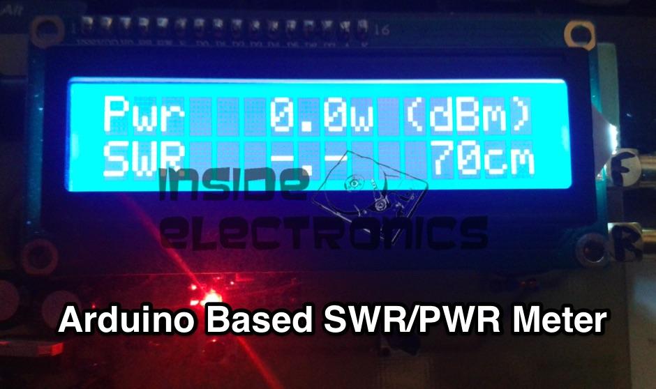 DXZone Arduino Based SWR/PWR Meter