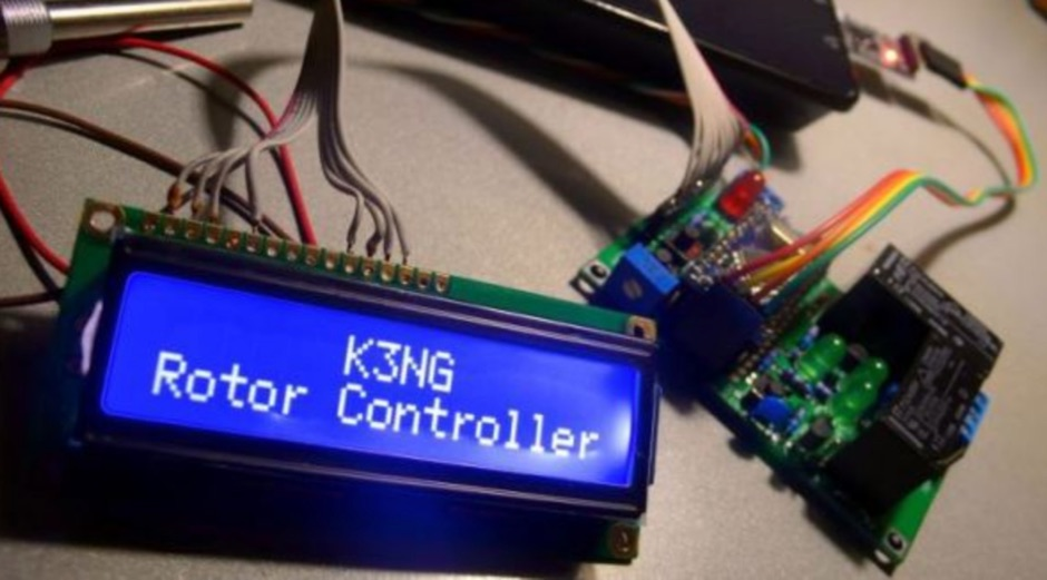 Arduino Rotator Computer Interface and Controller
