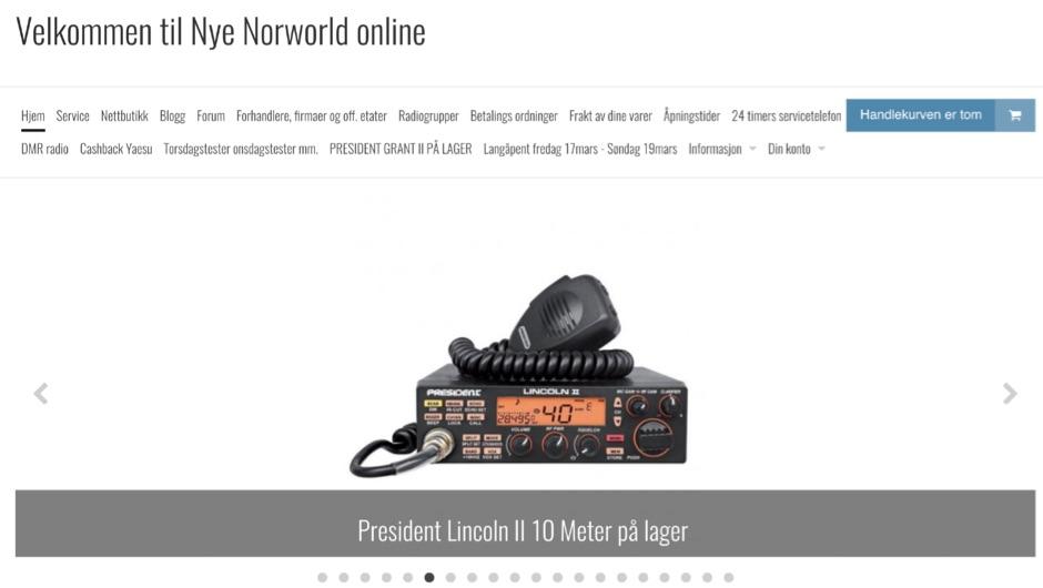 DXZone Hjem - Velkommen til Nye Norworld online
