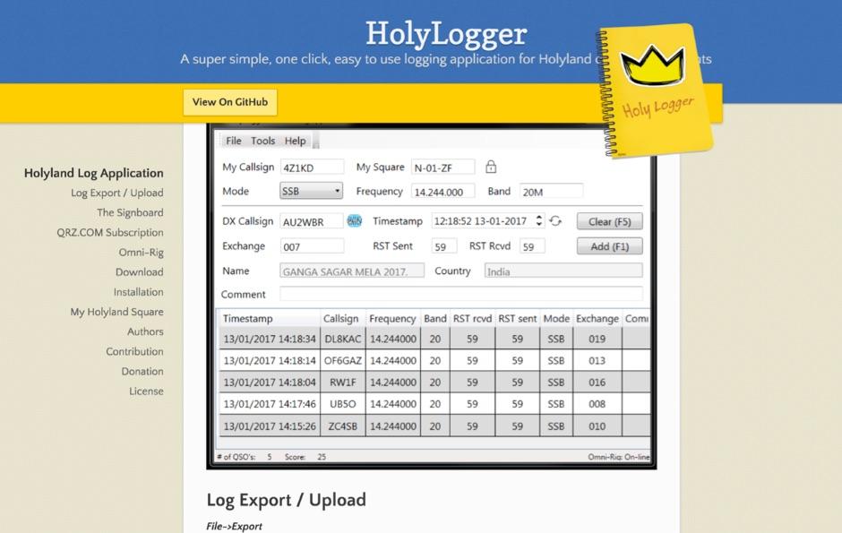 HolyLogger