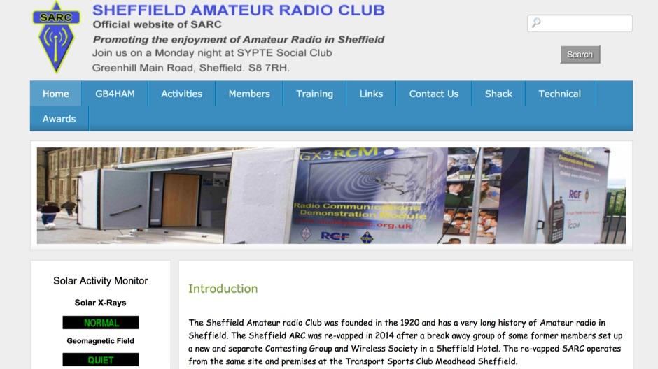 Sheffield Amateur radio Club