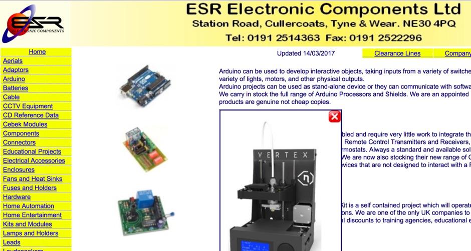 ESR electronic components Ltd