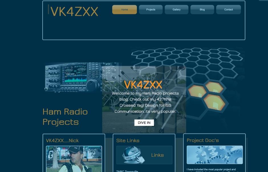 DXZone VK4ZXX Ham Radio Projects Brisbane
