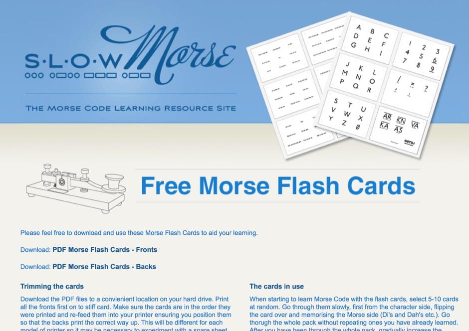Slow Morse