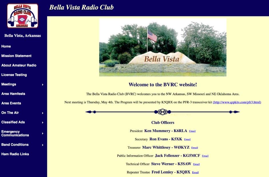 DXZone BVRC - Bella Vista Radio Club