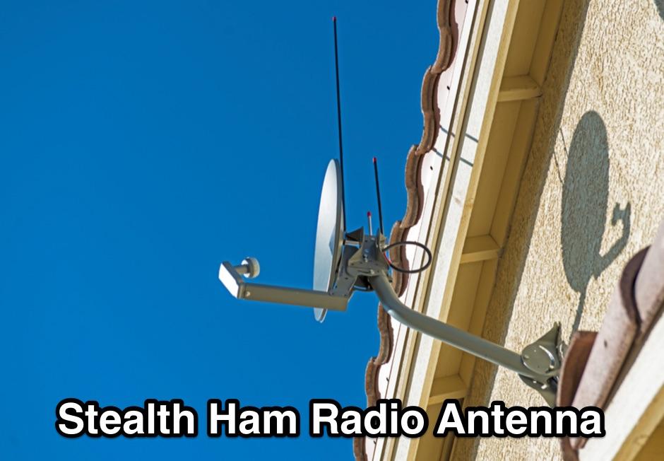 Stealth Ham Radio Antenna