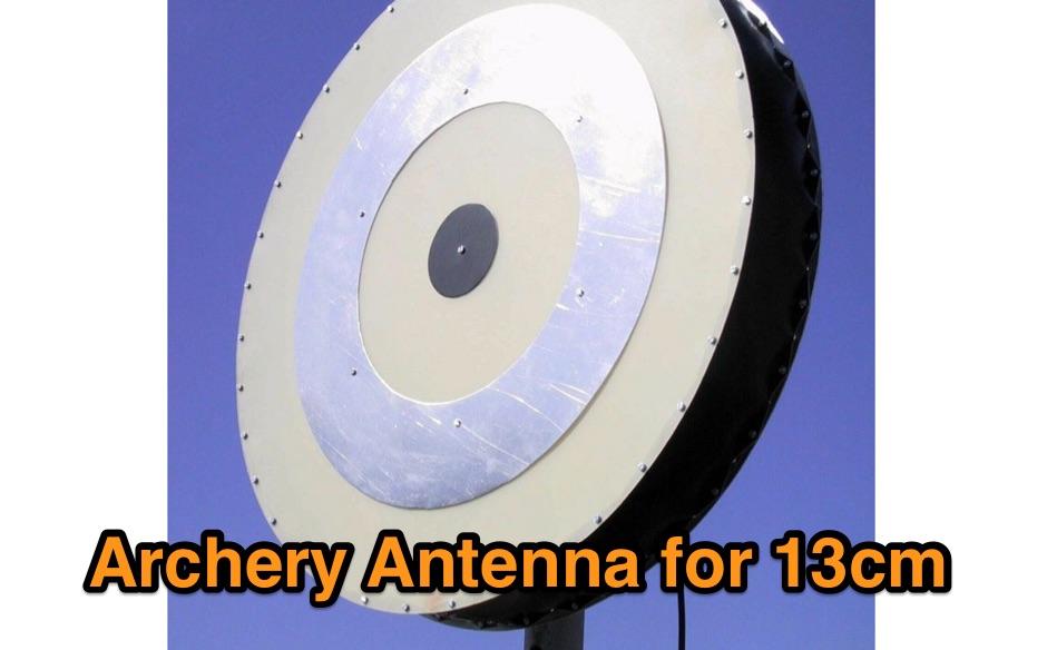 DXZone Archery Antenna for 13cm