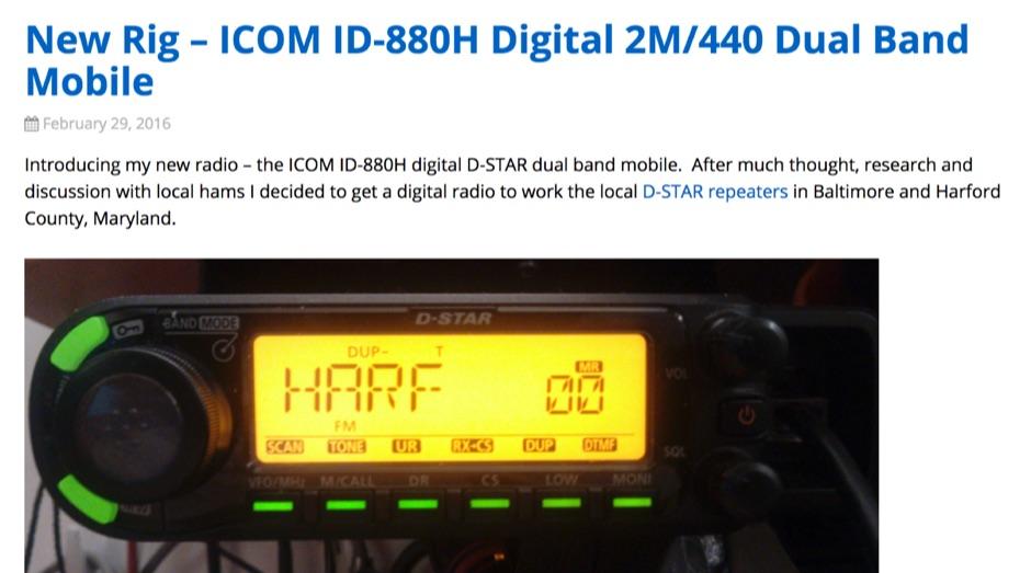 DXZone ICOM ID-880H Review