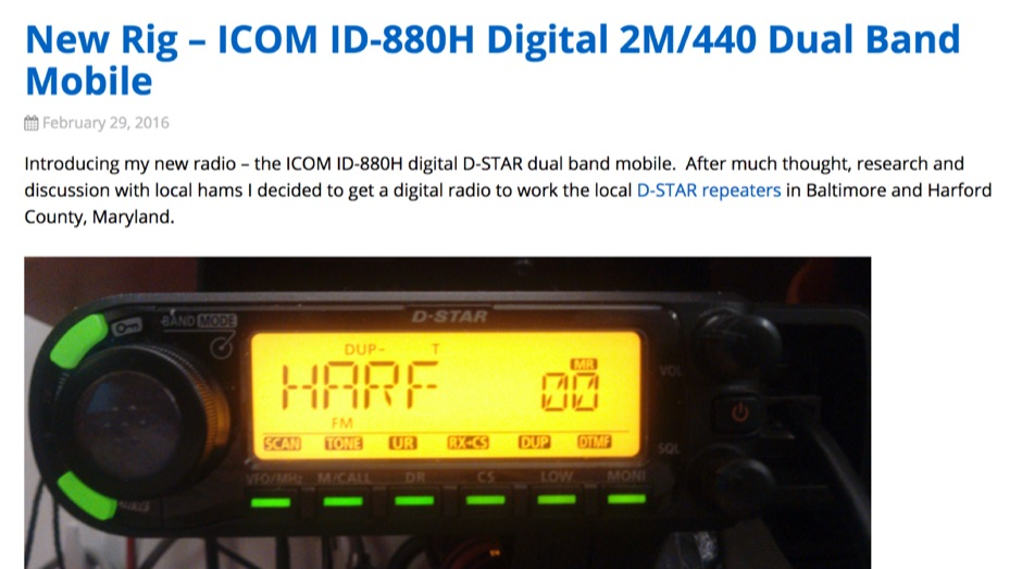 ICOM ID-880H Review