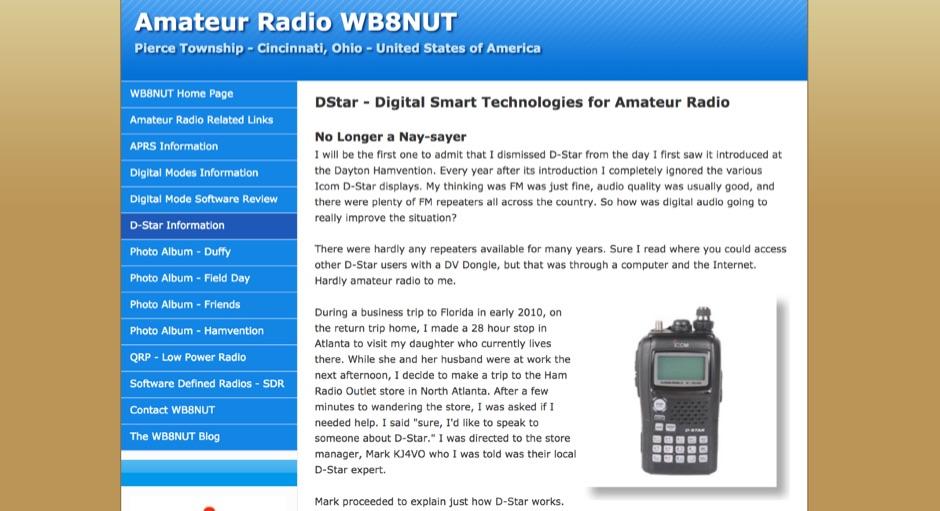 DStar - Digital Smart Technologies for Amateur Radio