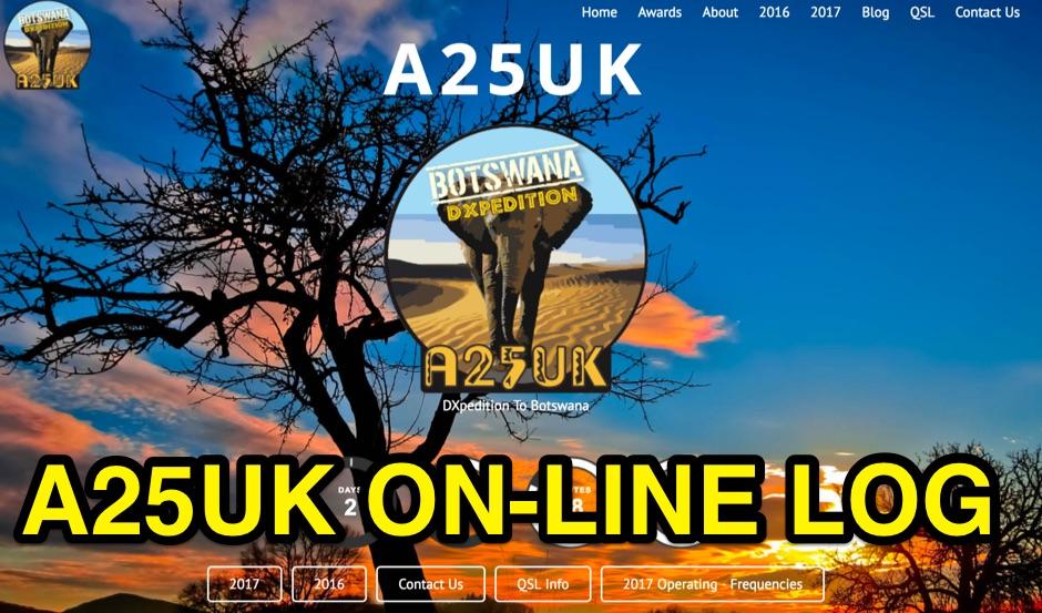 A25UK Online Log