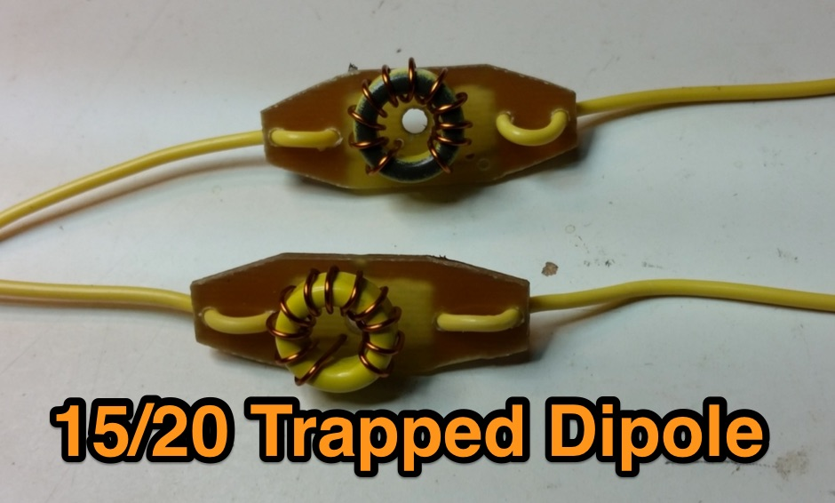 Trapped Dipole for 15/20 Meters Bands