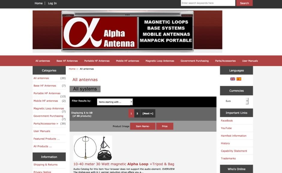 Alpha Antenna